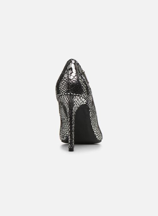 Zapatos de tacón Kaporal Rimelle Plateado vista lateral derecha