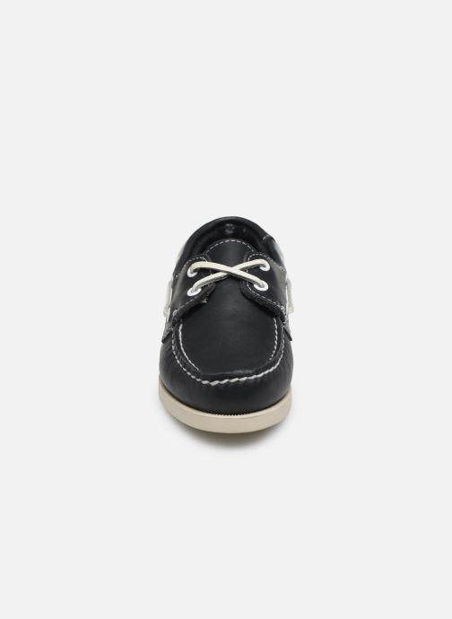 Chaussures à lacets Sebago PORTLAND K Bleu vue portées chaussures
