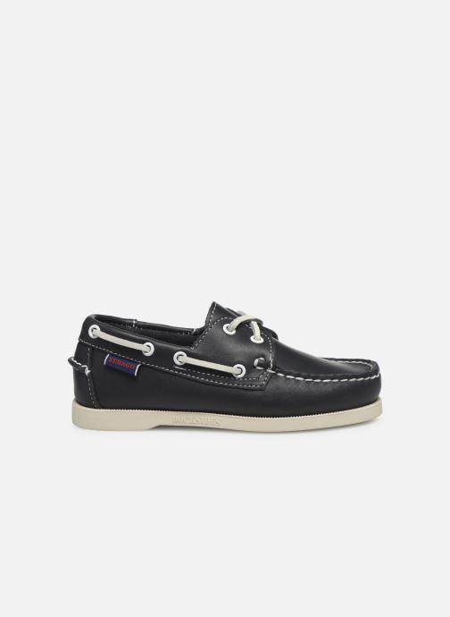 Zapatos con cordones Sebago PORTLAND K Azul vistra trasera