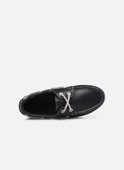 Chaussures à lacets Sebago PORTLAND K Bleu vue gauche
