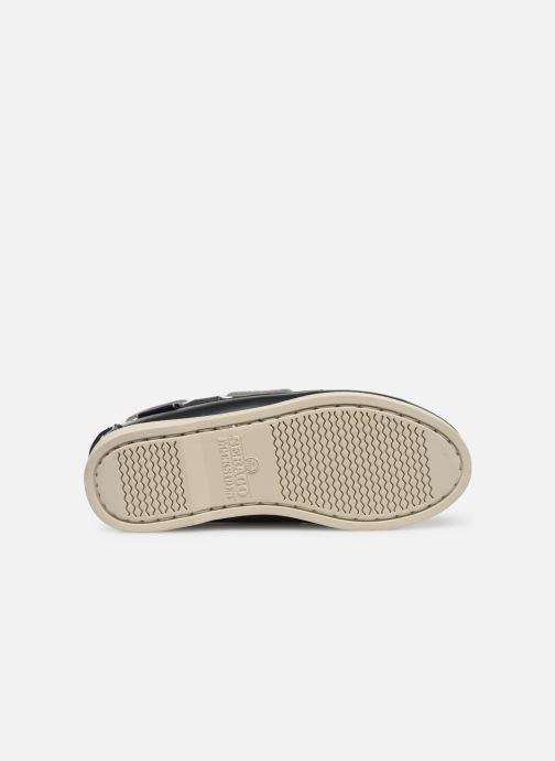 Chaussures à lacets Sebago PORTLAND K Bleu vue haut
