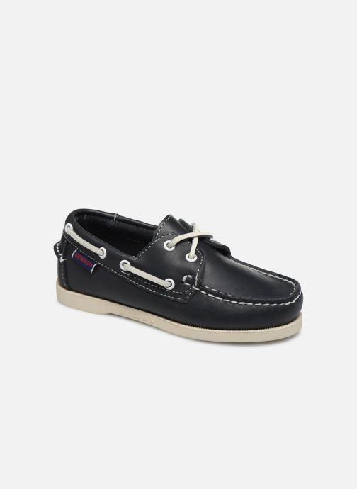 Zapatos con cordones Sebago PORTLAND K Azul vista de detalle / par