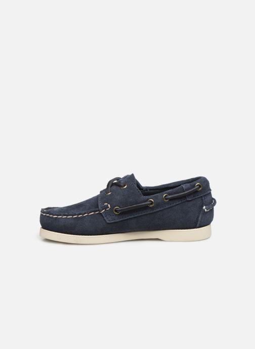 Chaussures à lacets Sebago PORTLAND SUEDE K Bleu vue face