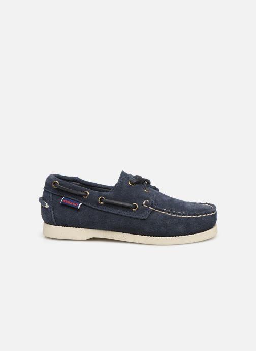 Zapatos con cordones Sebago PORTLAND SUEDE K Azul vistra trasera