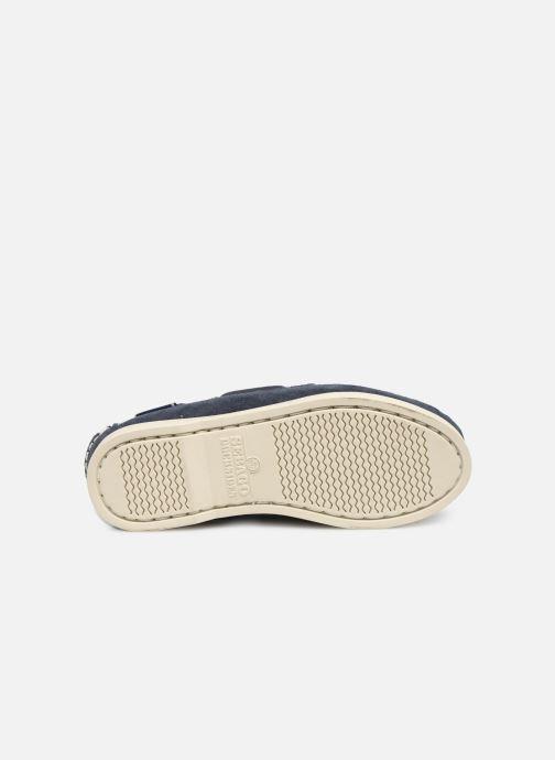 Chaussures à lacets Sebago PORTLAND SUEDE K Bleu vue haut