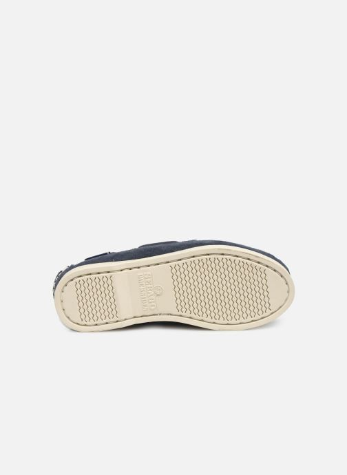 Zapatos con cordones Sebago PORTLAND SUEDE K Azul vista de arriba