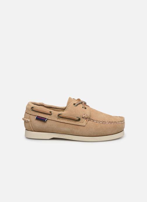 Chaussures à lacets Sebago PORTLAND SUEDE K Marron vue derrière