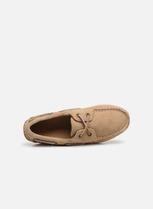 Chaussures à lacets Sebago PORTLAND SUEDE K Marron vue gauche