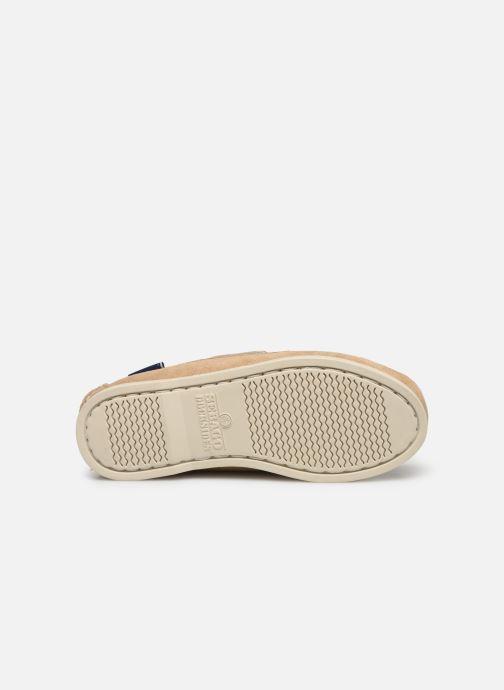 Chaussures à lacets Sebago PORTLAND SUEDE K Marron vue haut