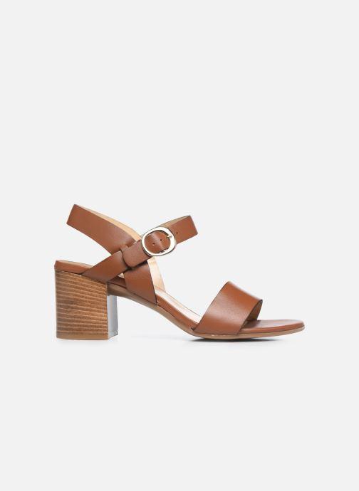 Sandales et nu-pieds Jonak FELICITA Marron vue derrière