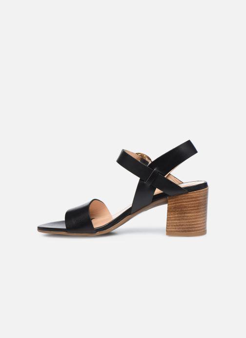 Sandali e scarpe aperte Jonak FELICITA Nero immagine frontale