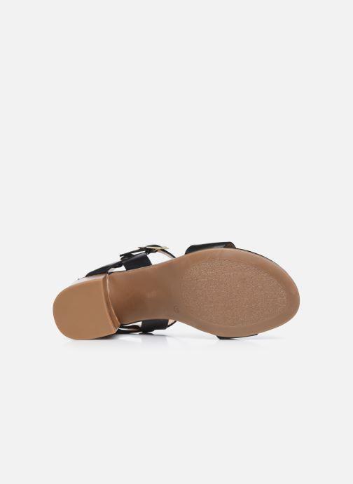Sandali e scarpe aperte Jonak FELICITA Nero immagine dall'alto