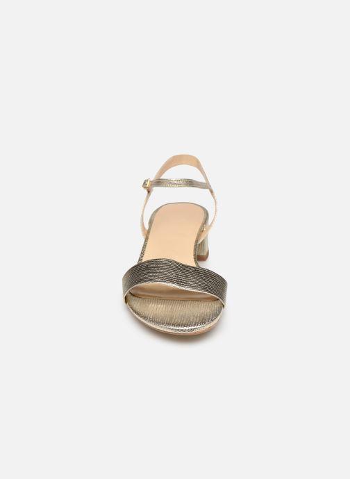Sandalen Jonak VIA BIS gold/bronze schuhe getragen