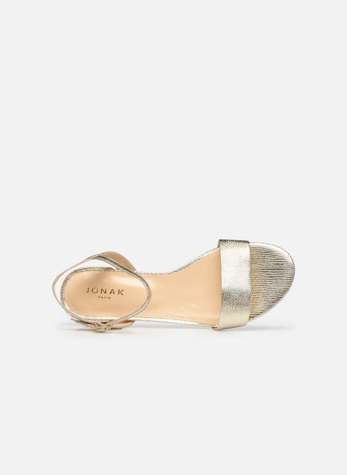 Jonak VIA BIS (Or et bronze) Sandales et nu pieds chez