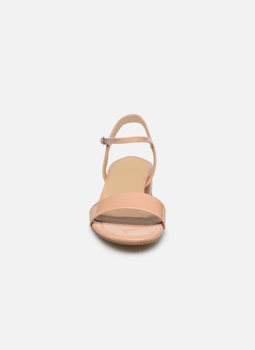 Sandalen Jonak VIA BIS beige schuhe getragen
