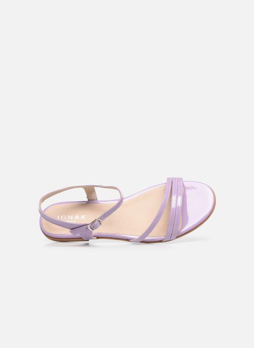 Sandali e scarpe aperte Jonak AMELIKA Viola immagine sinistra
