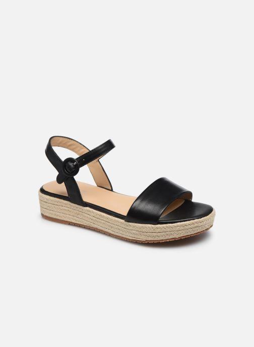 Sandales et nu-pieds Jonak BALI Noir vue détail/paire