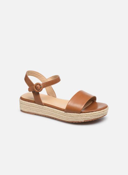 Sandales et nu-pieds Jonak BALI Marron vue détail/paire