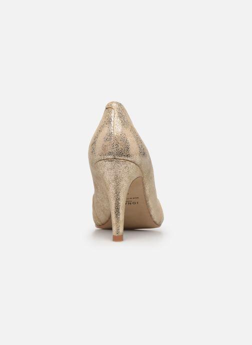 Zapatos de tacón Jonak DAIH Oro y bronce vista lateral derecha
