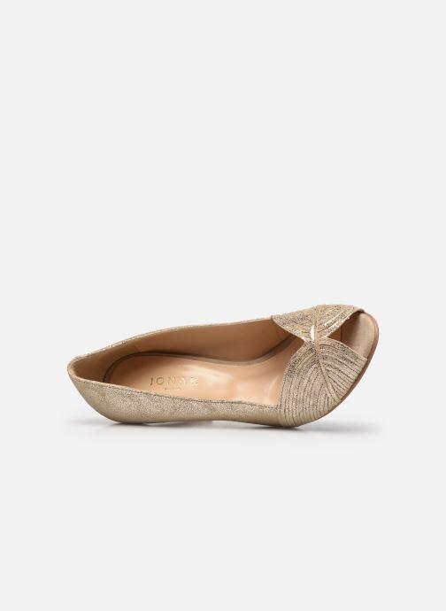 Zapatos de tacón Jonak DAIH Oro y bronce vista lateral izquierda