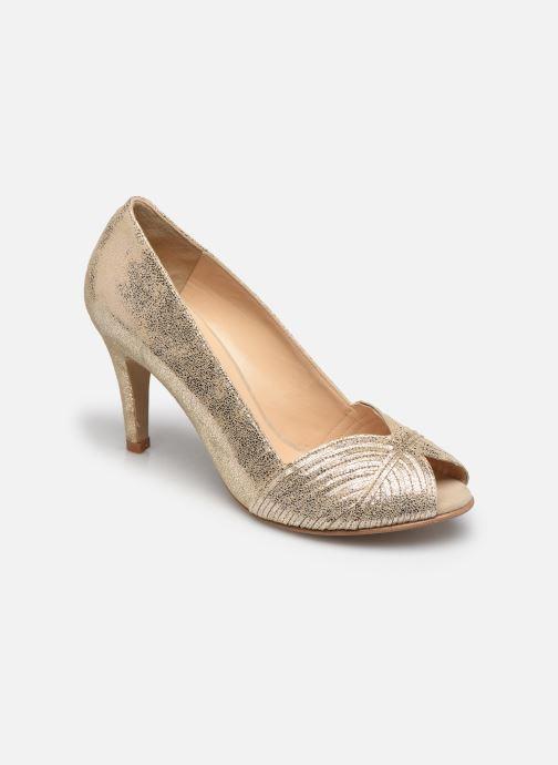 Zapatos de tacón Jonak DAIH Oro y bronce vista de detalle / par