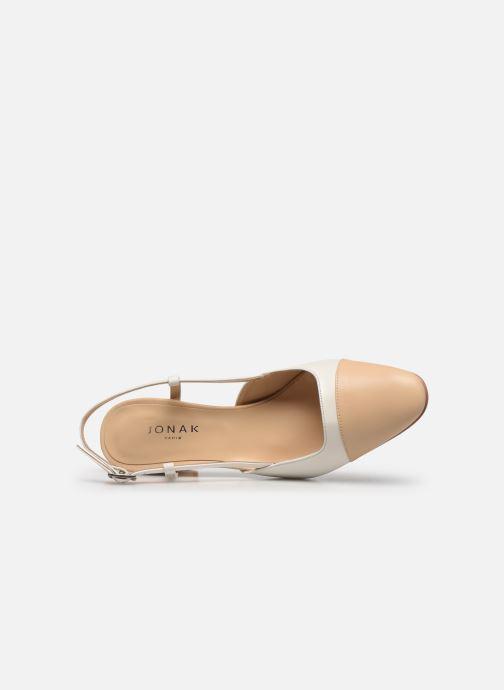 Zapatos de tacón Jonak DHAPOP Beige vista lateral izquierda