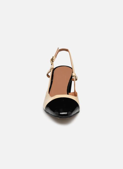 Escarpins Jonak DHAPOP Beige vue portées chaussures