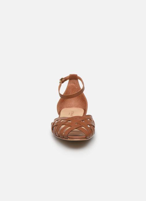 Sandales et nu-pieds Jonak DOO Marron vue portées chaussures