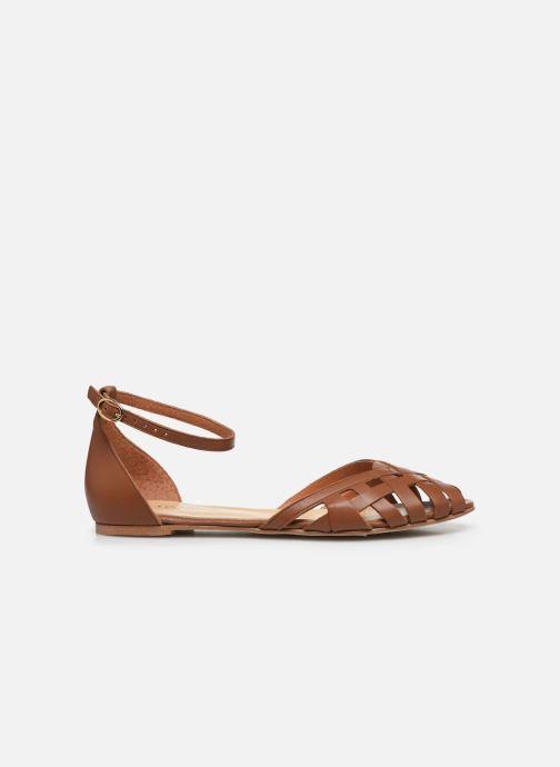 Sandales et nu-pieds Jonak DOO Marron vue derrière