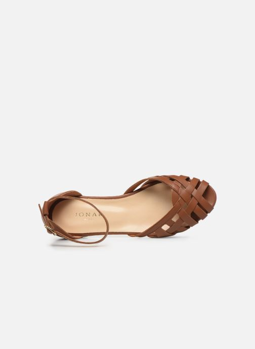 Sandales et nu-pieds Jonak DOO Marron vue gauche