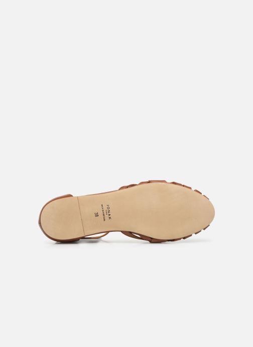 Sandales et nu-pieds Jonak DOO Marron vue haut