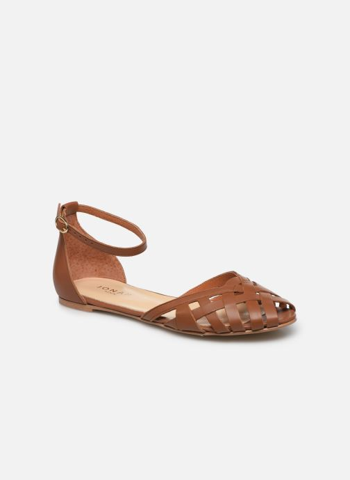Sandales et nu-pieds Jonak DOO Marron vue détail/paire