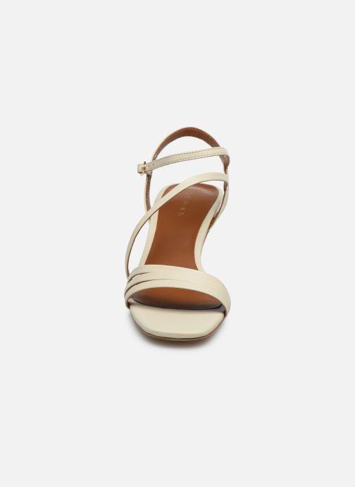 Sandalen Jonak SHEILA beige schuhe getragen