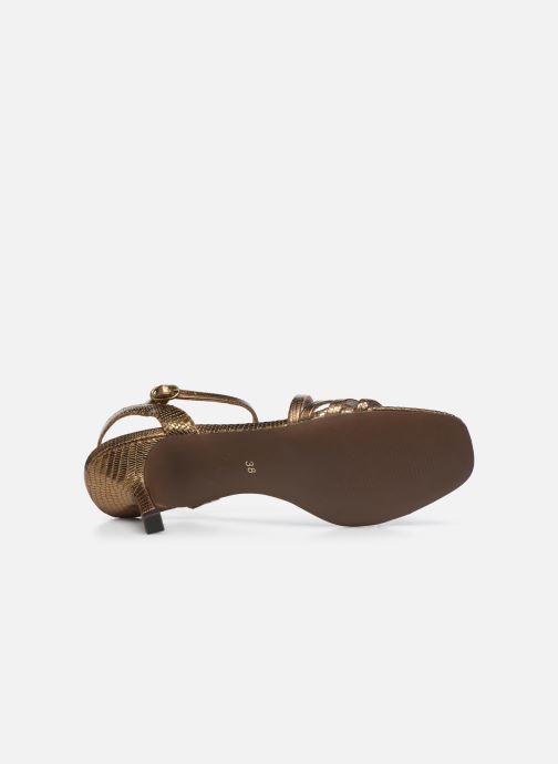 Sandali e scarpe aperte Jonak SHEILA Oro e bronzo immagine dall'alto