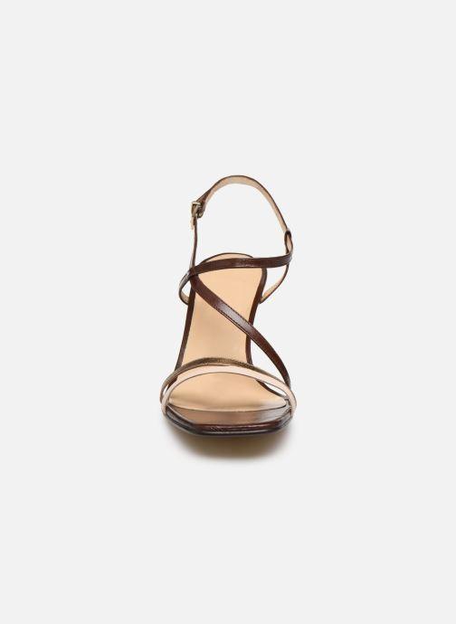 Sandali e scarpe aperte Jonak VAICIA Marrone modello indossato