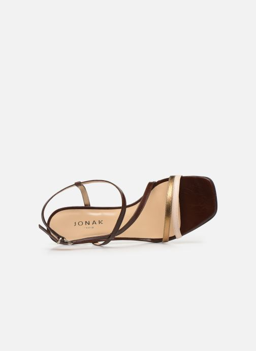 Sandali e scarpe aperte Jonak VAICIA Marrone immagine sinistra