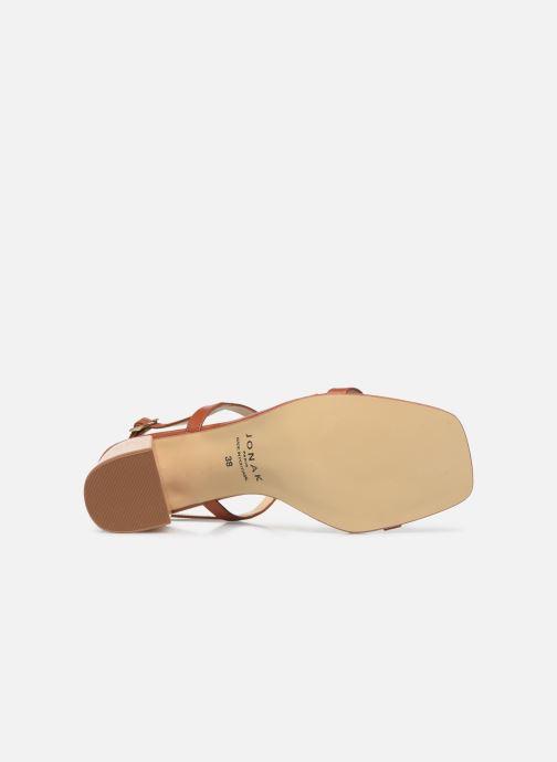Sandali e scarpe aperte Jonak VACUNA Marrone immagine dall'alto