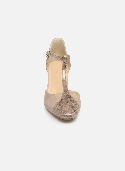 Escarpins Jonak VIMOS Or et bronze vue portées chaussures