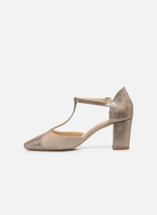 Zapatos de tacón Jonak VIMOS Oro y bronce vista de frente