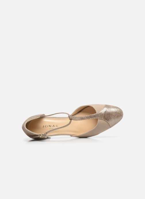 Zapatos de tacón Jonak VIMOS Oro y bronce vista lateral izquierda