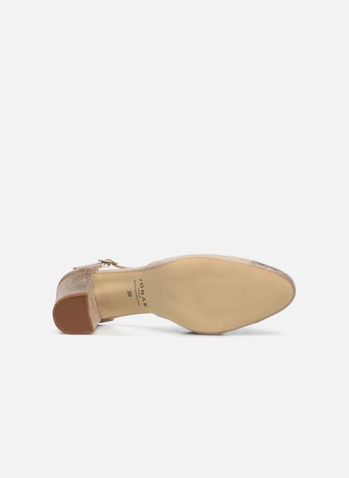Zapatos de tacón Jonak VIMOS Oro y bronce vista de arriba