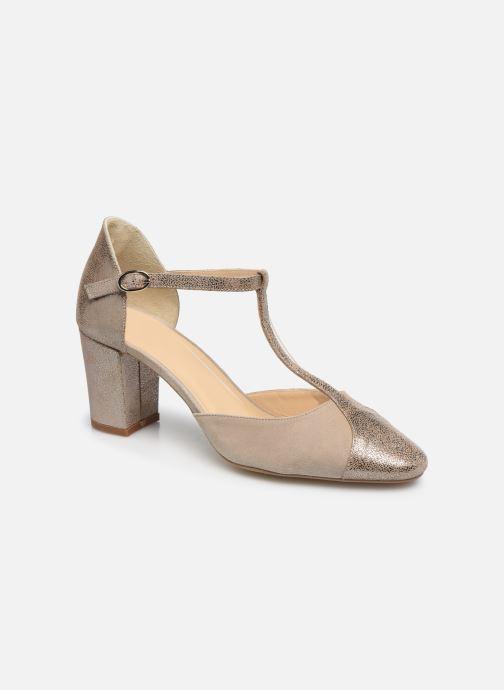 Zapatos de tacón Jonak VIMOS Oro y bronce vista de detalle / par