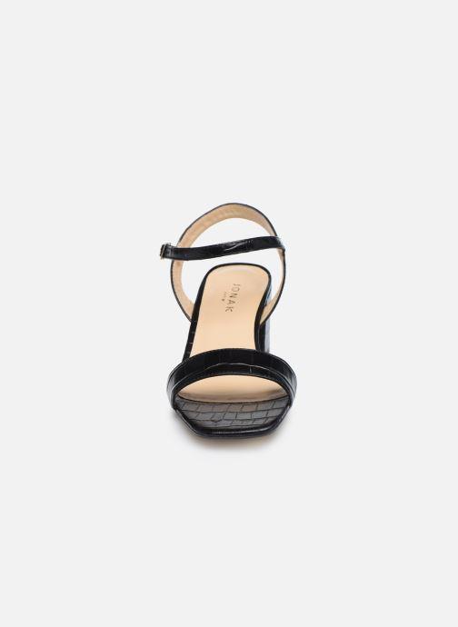 Sandales et nu-pieds Jonak VADYM Noir vue portées chaussures