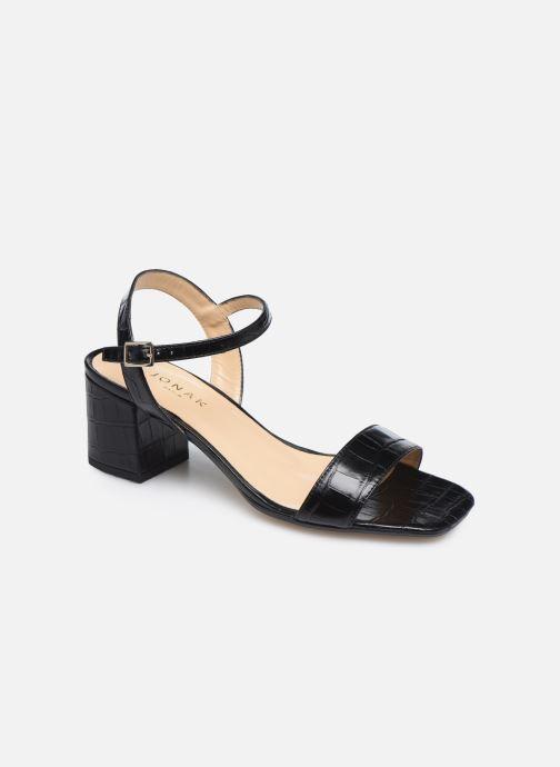 Sandales et nu-pieds Jonak VADYM Noir vue détail/paire