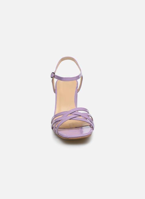 Sandalen Jonak VICTORINE lila schuhe getragen