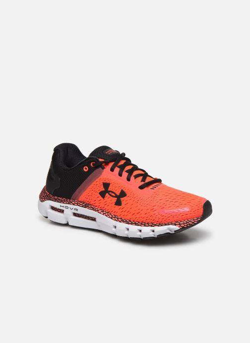 Chaussures de sport Under Armour UA HOVR Infinite 2 Rouge vue détail/paire