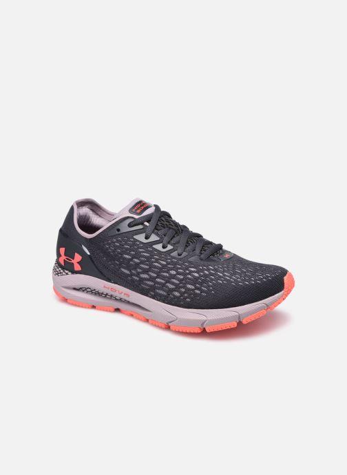 Chaussures de sport Under Armour UA W HOVR Sonic 3 Violet vue détail/paire
