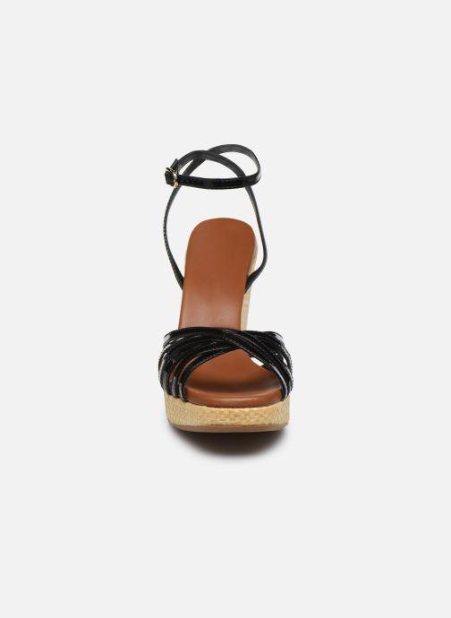 Sandalen L.K. Bennett SOLANGE schwarz schuhe getragen