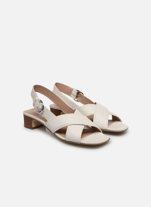 Sandales et nu-pieds L.K. Bennett NOAH Blanc vue 3/4