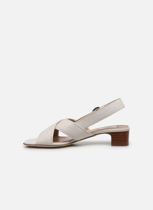 Sandales et nu-pieds L.K. Bennett NOAH Blanc vue face